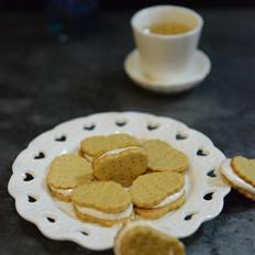 苏打棉花糖夹心饼干