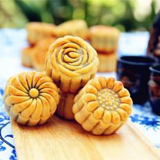 广式月饼#长帝烘焙节#