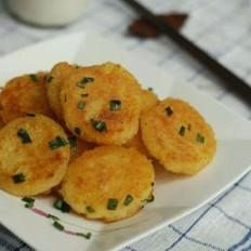 土豆传奇葱香土豆饼