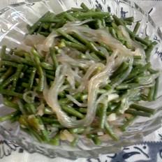 豇豆炒粉条