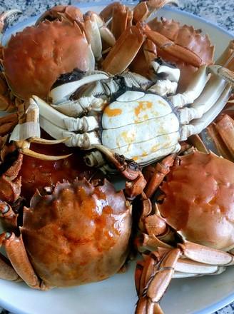 蒸排骨的河蟹洗过的做法保存图片
