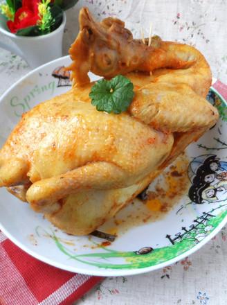 电饭锅奥尔良焗鸡的做法