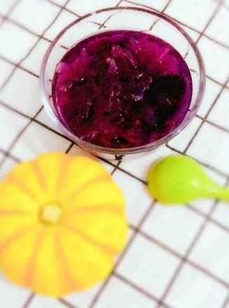 紫薯银耳羹的做法