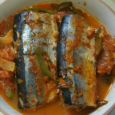 辣白菜炖鱼