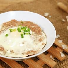 肉饼蒸蛋—迷迭香