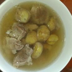粟子煲猪肉汤