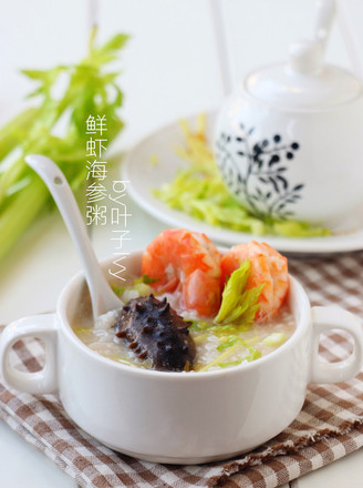 鲜虾海参粥