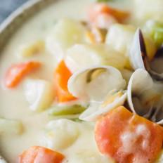 蛤蜊土豆奶油浓汤