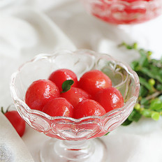 柠香蜜渍小番茄