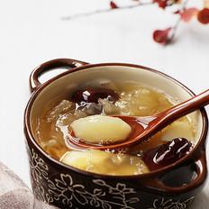 银耳马蹄甜汤