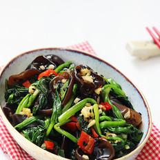 木耳拌菠菜