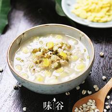 绿豆薏米燕麦粥