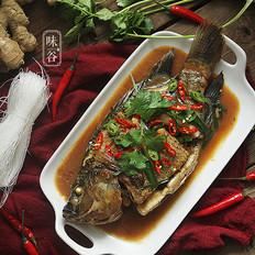 红烧非洲鲫鱼的做法[图]