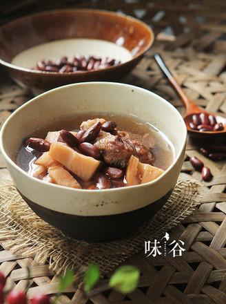 红腰豆莲藕煲猪骨的做法