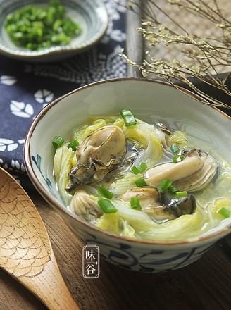 牡蛎白菜汤的做法