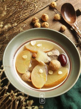 补脾润肺的苹果雪梨养生汤的做法