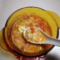鸡蛋番茄珍珠汤