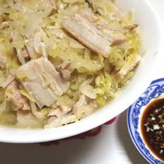 酸菜炖五花肉