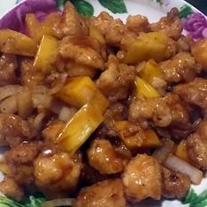 菠萝茄汁龙利鱼