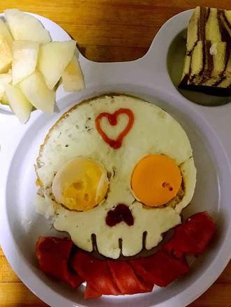 可爱的早餐的做法