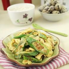 海鲜鸡蛋炒秋葵