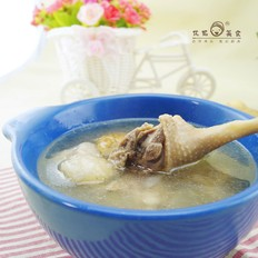 雪梨黄芪老鸭汤