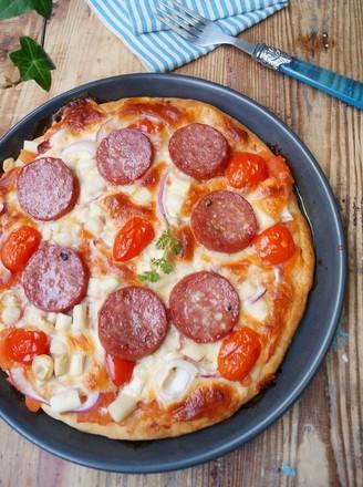 意大利萨拉咪披萨的做法
