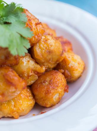 茄汁酥皮鹌鹑蛋的做法