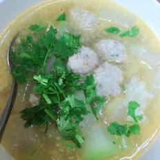 虾米冬瓜肉丸汤