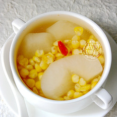 甜玉米梨子糖水