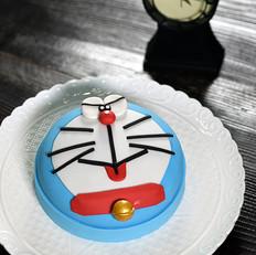 哆啦A梦翻糖蛋糕-德普烘焙食谱