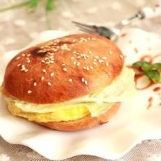 芝士鸡蛋汉堡