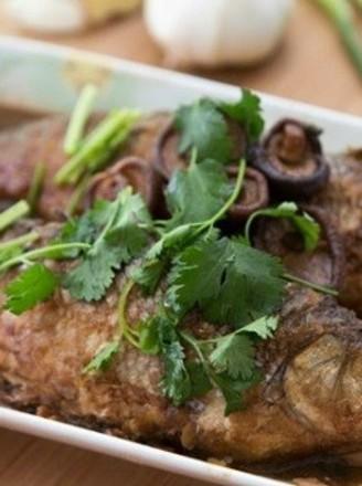 菇香华子鱼酿肉真解馋的做法