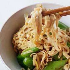 低油版青椒干豆腐