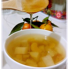 蜂蜜橘子梨汤水