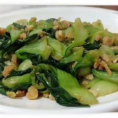 海米炒油菜
