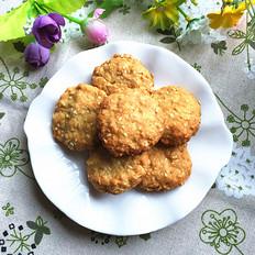 燕麦芝麻小圆饼