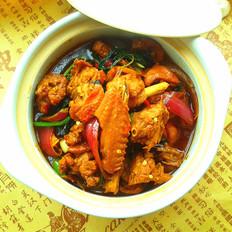 砂锅紫苏鸭煲