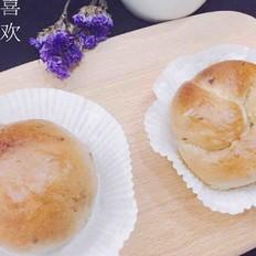 红糖红枣核桃面包
