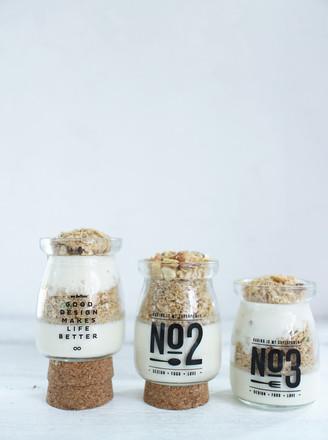麦片豆浆布丁的做法