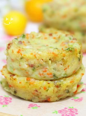 胡萝卜培根土豆饼