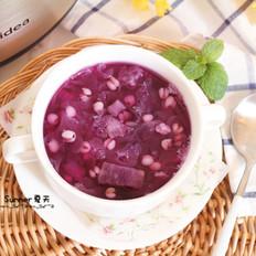 紫薯银耳薏仁粥#美的原生态AH煲#