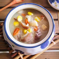 干贝萝卜猪肚汤的做法[图]