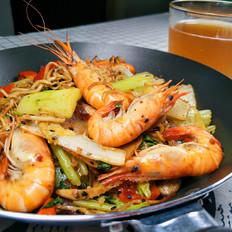 泡面香锅虾