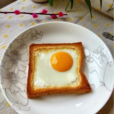 #幼儿3岁菜谱#土司太阳蛋