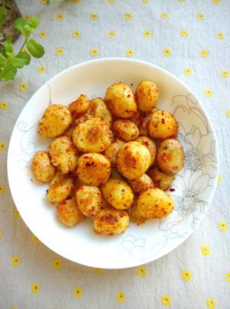 #四川小吃#麻辣小土豆的做法