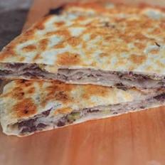 黑椒驴肉千层饼