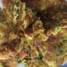 青椒火腿煎蛋