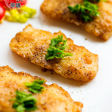 蒜汁龙利鱼