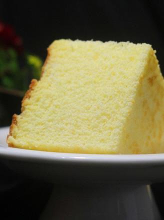 原味6寸戚风蛋糕的做法